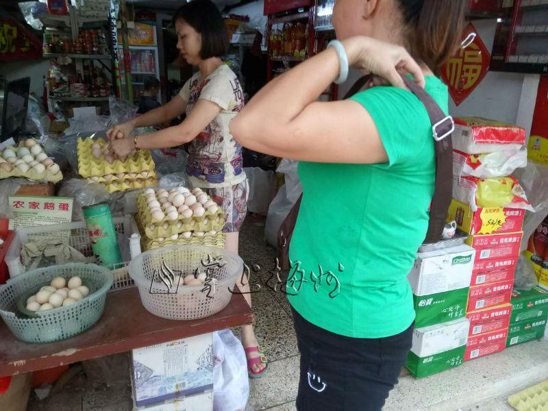 梅城一杂货店鸡蛋也上涨1