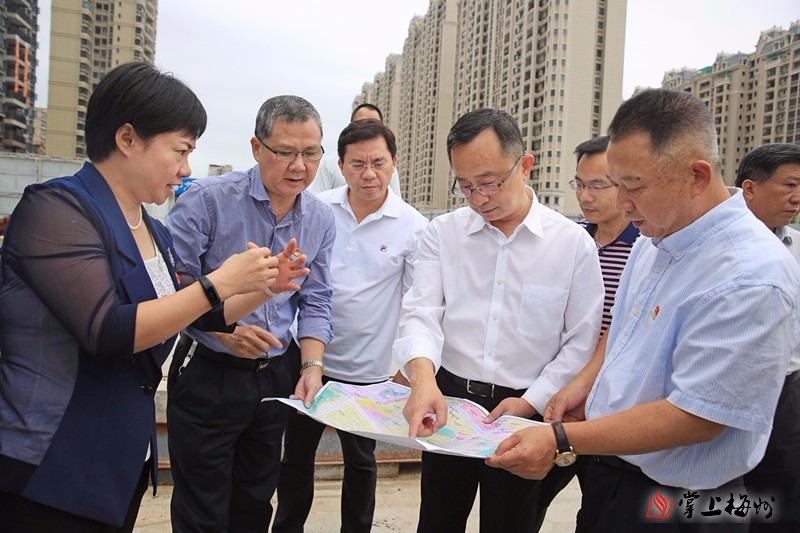 陈敏到梅江区调研城市管理工作:建设让群众满意的文明城市