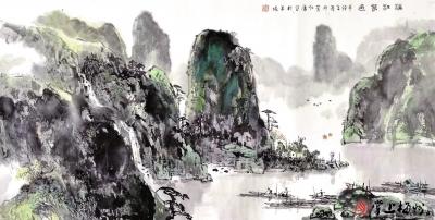 李仁康美术作品赏析