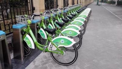 雁洋不仅投放公共自行车,还将投放山地自行车