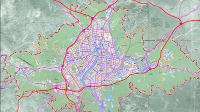 """《梅州市城市总体规划》解读一:将构建""""三环八放射""""城区骨架路网"""
