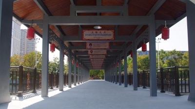 """梅江浮桥和梅水路""""美妆""""完毕!另外梅城还有这些变化…"""