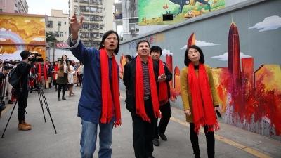 你看过他的画吗?五华籍漫画家邓微观深耕社区文化