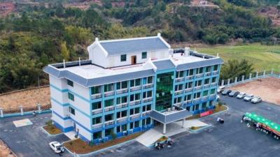 白渡镇新卫生院首期工程启用 看看未来还将设哪些科室!