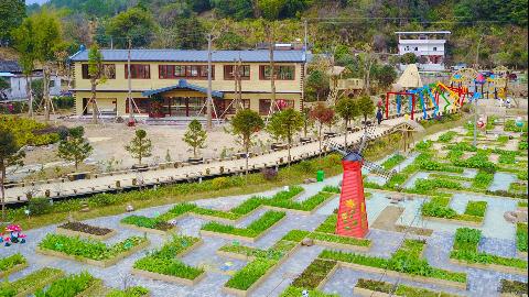 投资6000多万元建设的黄坑田园综合体首期完工 春节吸引大批游客