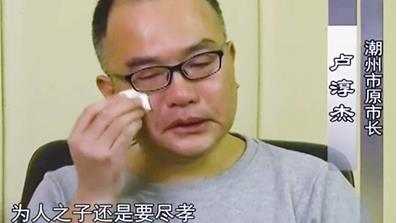 广东省潮州市原市长卢淳杰受贿案一审宣判