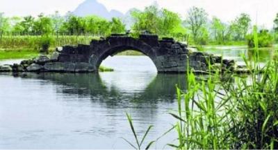 童心妙笔丨横跨韩江的古桥