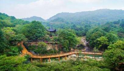 丰顺韩山旅游景区举办徒步节活动 吸引万人踏青赏花