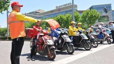 外卖电动自行车闯红灯、逆行、超速…公安部:联合整治!