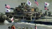 """美军方称""""无限期暂停""""部分美韩联合军演"""