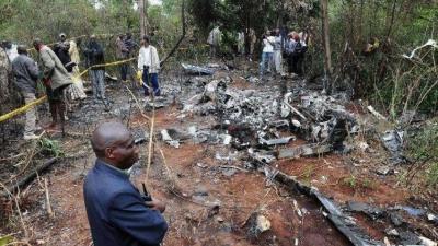 肯尼亚失联飞机确认坠毁 机上10人全部遇难