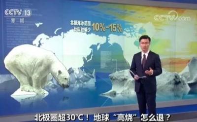 北极圈现30℃罕见高温!地球发烧了?