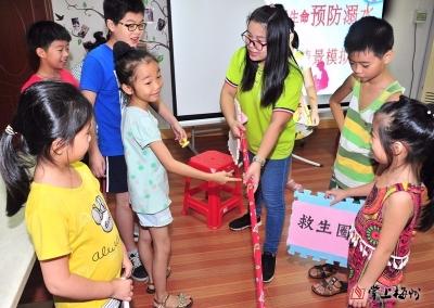 为爱护航!梅江区江南街道定期举办儿童安全教育课堂