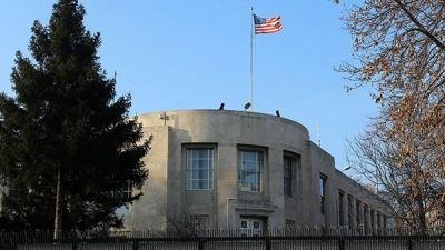 美驻土使馆遭枪击无人受伤:有人从车内向使馆开数枪