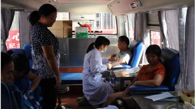 点赞!五华周江镇百余名干部群众参加义务献血