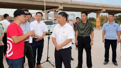 吴晖率队调研2018梅州客家(HAKKA)音乐节筹备工作