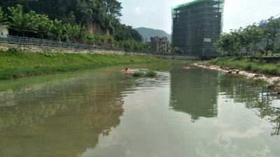 看见小孩落水,五华这位老师手机都不要了,直接跳入水中