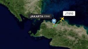 印尼载有189人客机坠海 我使馆正核实有无中国公民伤亡