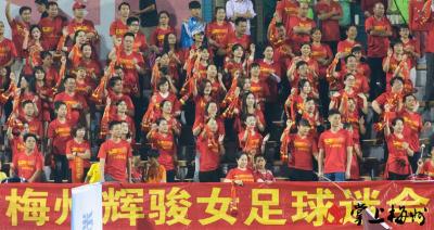 恭喜!梅州辉骏以小组第二晋级全国女足锦标赛第二阶段