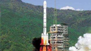 """国内首枚民营运载火箭定名""""朱雀·南太湖号"""",将于月底发射"""