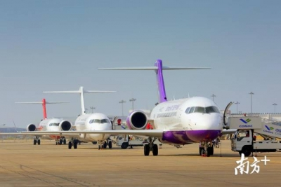 商飞再获30架ARJ21订单,该机型总订单突破500架