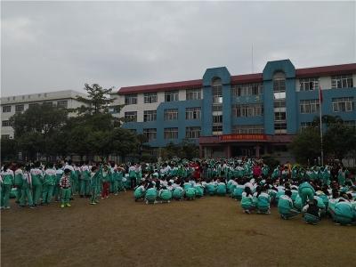 这不是演练!6分钟,兴宁市第一小学几千学生紧急撤离,安全有序!