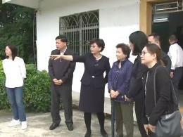 嘉华集团爱心基金会和省港澳办一行到大埔调研精准扶贫工作