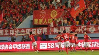 """战至最后一刻!梅县铁汉保级成功!总比分3比2胜""""西北狼"""""""