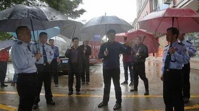 钟光灵调研梅县区城市建设管理和民生工作