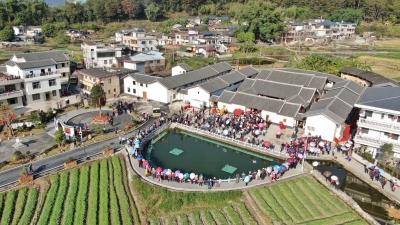 """来看这个田园诗画般的小村庄!嘉宾们参观梅州蕉岭""""院士之村"""""""