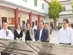 徐庆锋率队到蕉岭参观考察基层中医药工作