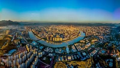 """梅州召开重点地段城市设计优化和江南新城""""两馆""""精装布展方案情况汇报会"""