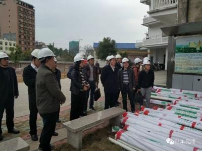 中国工程院院士谢和平率队到丰顺考察地热资源情况