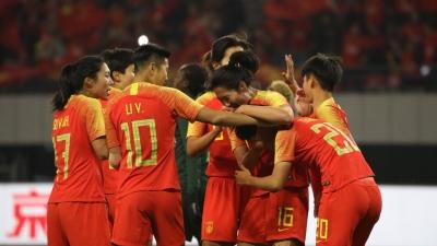 滚动丨2019女足四国赛:中国3比0战胜尼日利亚