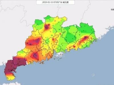 今明早晚有雾,15-16日冷空气又要给广东降温了