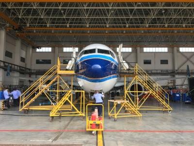 来了!粤东地区首条波音737NG飞机合作C检线顺利启动