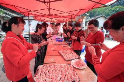 年味最是家乡浓!祭祖祈愿、美味飘香…梅州传统客味迎佳节