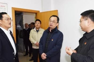 市委书记陈敏看望慰问纪检监察干部
