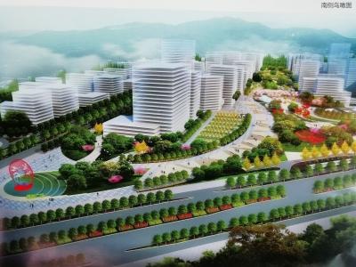 步步皆景!梅城江南新城将建绿轴,它长这个样子…
