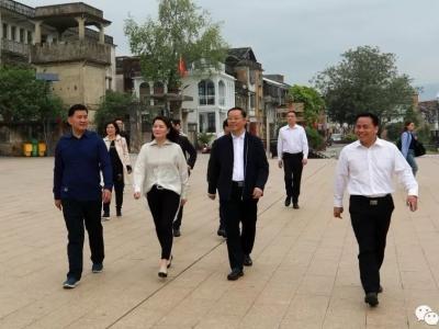 梅县区乡贤李美莲回乡参观考察,看到家乡发展,她这样说…