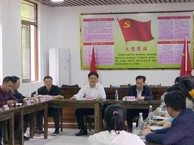 陈伟明参加县委办资料调研新闻党支部主题党日活动