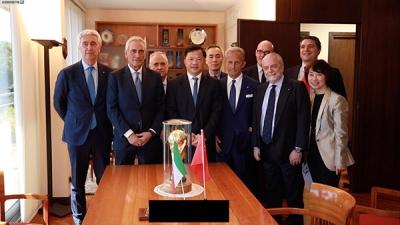 央视与意大利足协签署备忘录,意甲联赛可望常态化进入中国