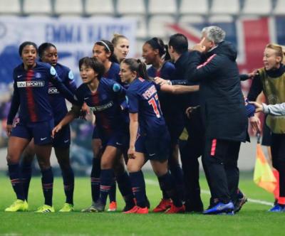 """女足欧冠:""""大巴黎""""赢球仍出局 半决赛切尔西战里昂"""