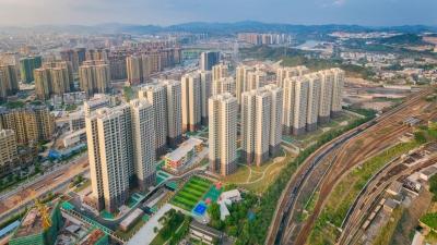 梅州V视丨江南新城站前安置区2816套房今日竣工验收,未来你家长这样...