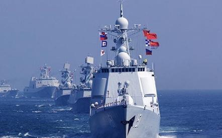 """国防部:4月29日至5月4日,中俄将举行""""海上联合-2019""""联合军演"""