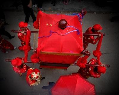客家大埔人的轿与婚俗