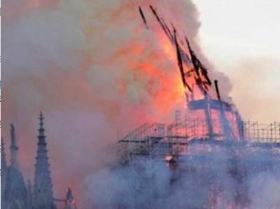 茶座丨巴黎圣母院大火, 痛惜之余当反思