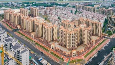 梅州V视丨先睹为快!江南新城上坪安置区836套房今日竣工验收