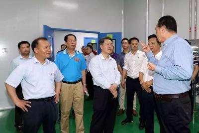 朱少辉调研创建国家中医药综合改革试验区建设工作