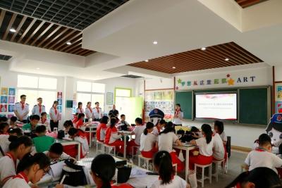 税务蓝牵手红领巾!丰顺县开展税法宣传进校园活动